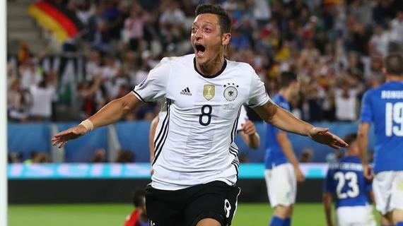 厄齐尔认为德国队实力更强