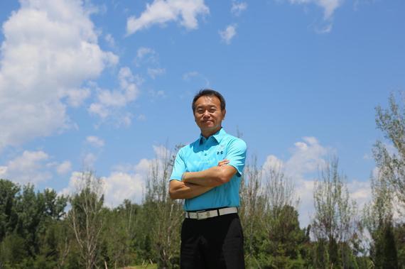 通盈雁栖湖高尔夫学院院长James Chen
