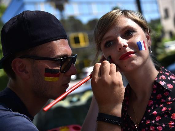 法国vs德国一触即发