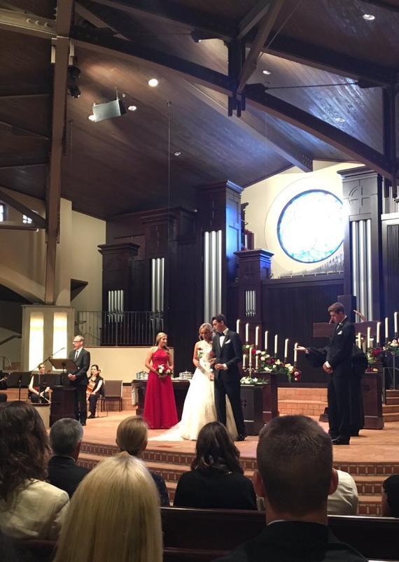 弗里茨和女友完婚