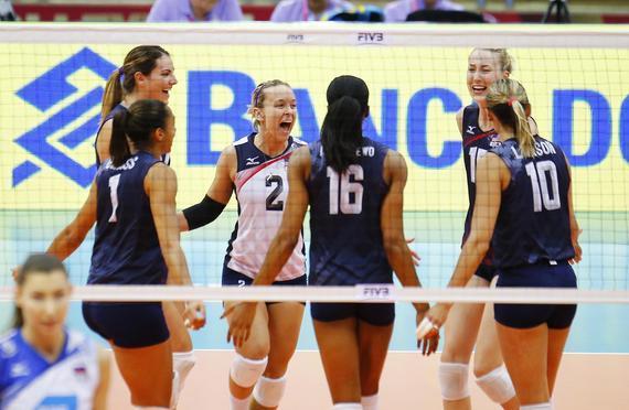 美国女排晋级决赛