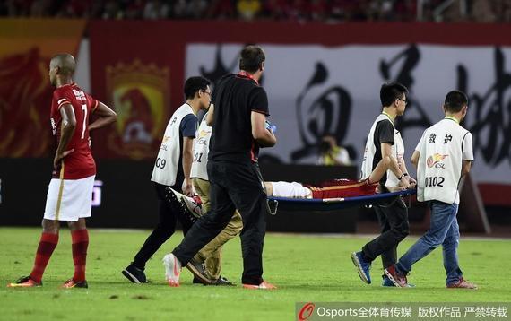 刘健曾受伤