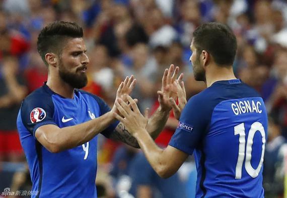 吉尼亚克的水平根本配不上入选法国国家队 更别说穿10号球衣了