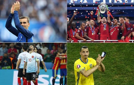欧洲杯出彩的球星是谁?最差的又是谁?