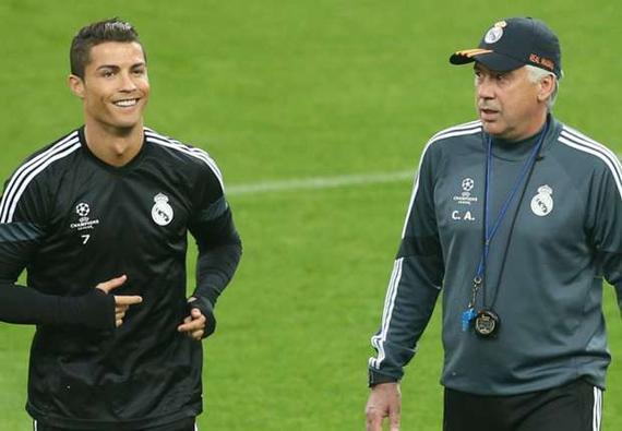 安切洛蒂表示拜仁不会签下C罗