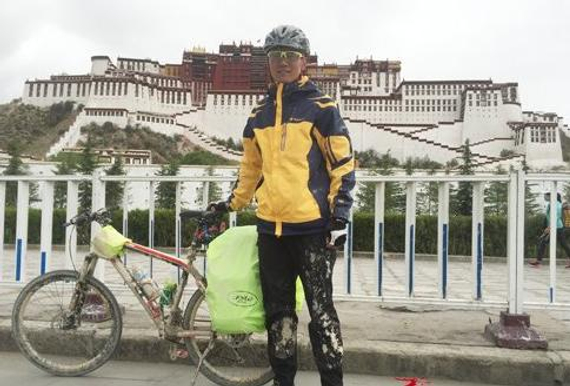 酷爱骑行的他历时四年准备,终于完成了2200公里川藏骑行