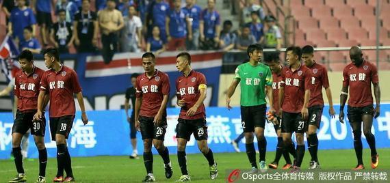足协杯权健0-4负于中超球队上海申花