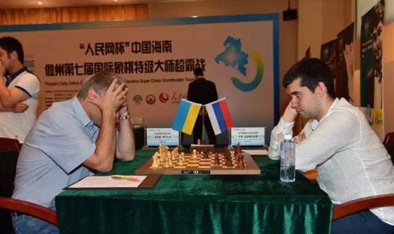 俄罗斯棋手涅波姆尼亚奇弈和伊万丘克