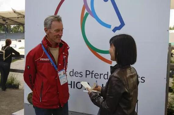 德国奥运马术三项赛团队教练克里斯托弗•巴特尔,