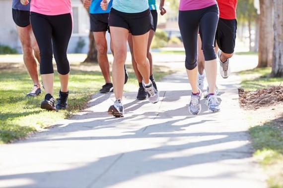 8种参加跑步俱乐部的不正当恐怖