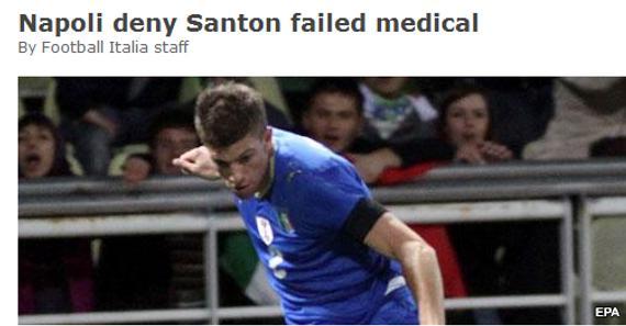 桑顿交易告吹并非因为体检结果