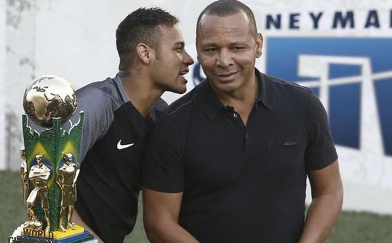 内马尔的父亲希望儿子能在巴西退役