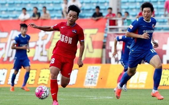 2016中甲第19轮:梅州客家2-0浙江毅腾
