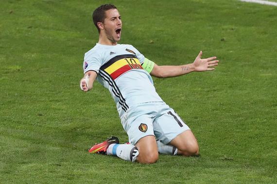 阿扎尔在欧洲杯有上佳表现