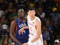 热身-美国50分再胜中国男篮