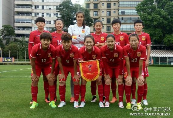 中国女足出征里约奥运