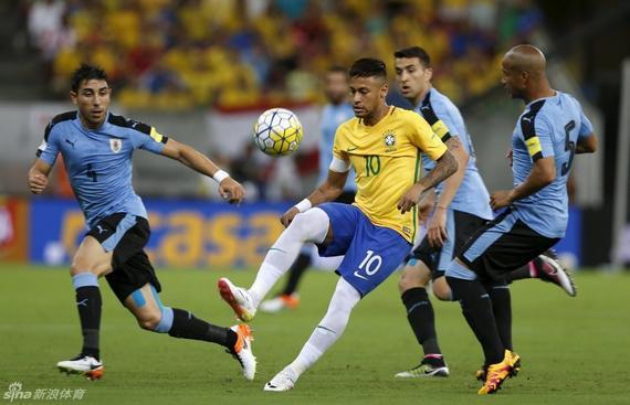 内马尔将出任巴西国奥队长