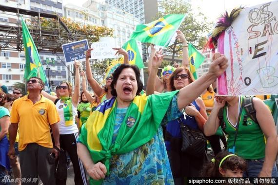 巴西当地的治安再次引起人们担忧