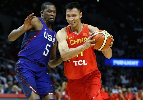易建联将率领中国男篮迎战美国