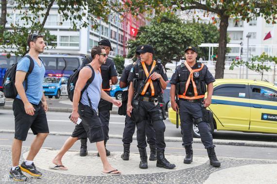 巴西的安保仍然让人担心