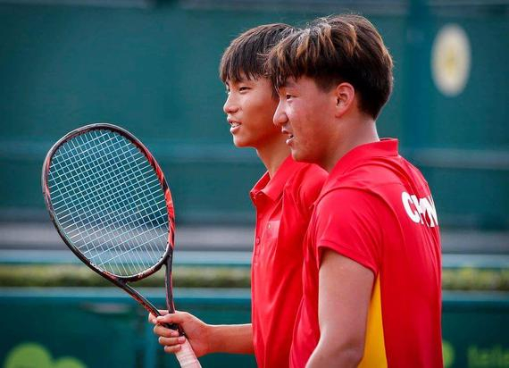中国青少年选手