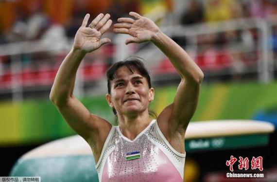 乌兹别克斯坦选手丘索维金娜
