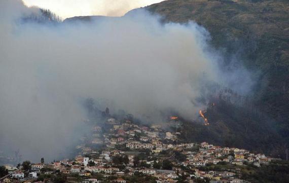 C罗的家乡惨遭大火
