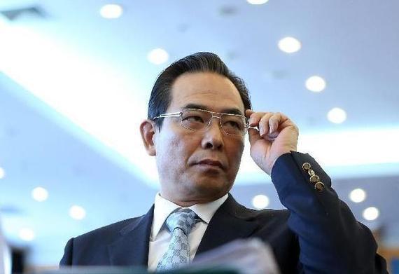 中国足协主席蔡振华(资料图)