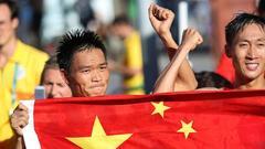 中国竞走双子星摘金夺银