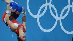 奥运会上的洪荒之力
