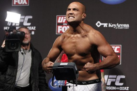 BJ-潘恩将复出领衔UFC马尼拉赛的头条大战