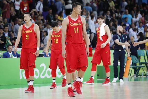 中国男篮征战里约奥运