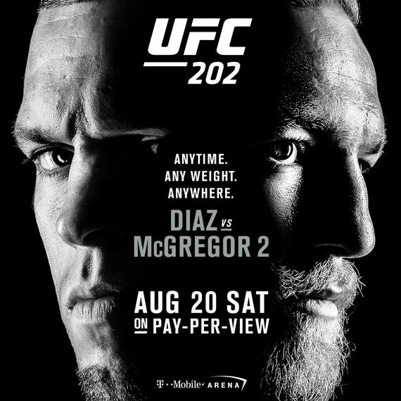UFC202官方宣传海报