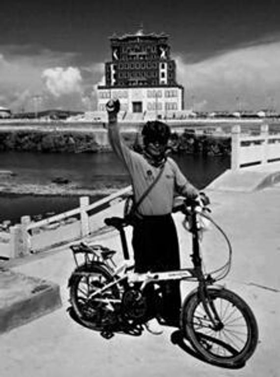 鹤壁68岁老人2年骑行半此中国