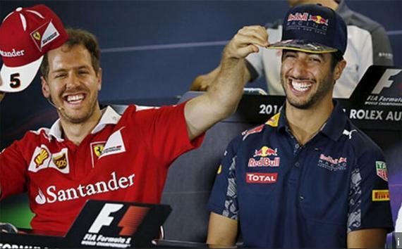 若是没有梅奔,里卡多和维泰尔将竞赛冠军