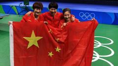中国完胜德国卫冕