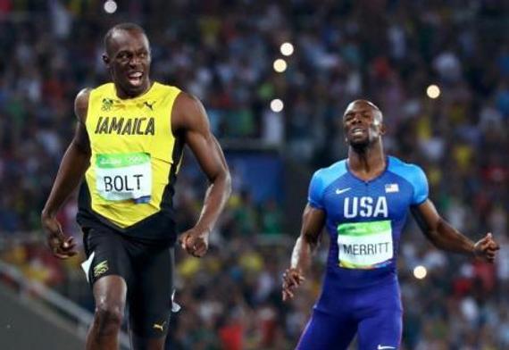 博尔特100米夺冠后确定退役