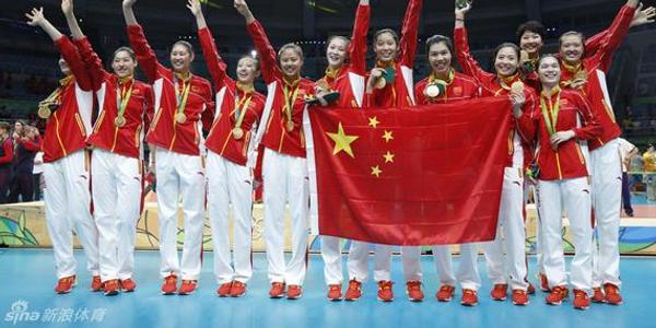 新华社:中华体育精神光耀里约