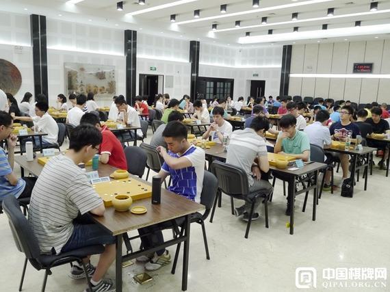 中国围棋国家队选拔赛现场