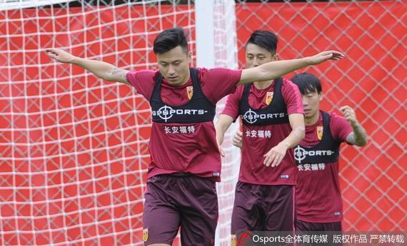 中国国家队沈阳备战12强赛