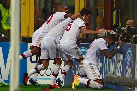 只要AC米兰昔时顺遂闯过了欧冠附加赛