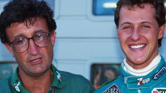 舒马赫1991年在比利时代表乔丹车队首次亮相F1