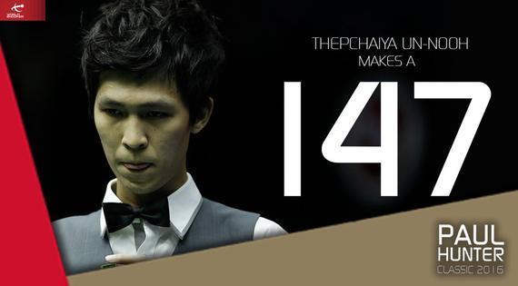 塔猜亚终于打出147