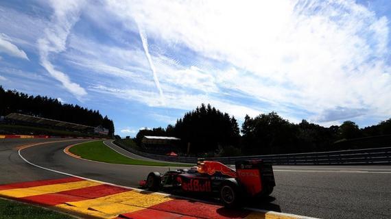 美丽的F1斯帕站比赛