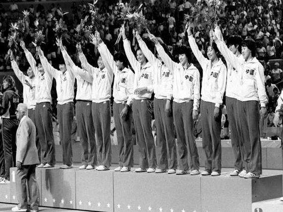 女排1984年洛杉矶奥运夺冠