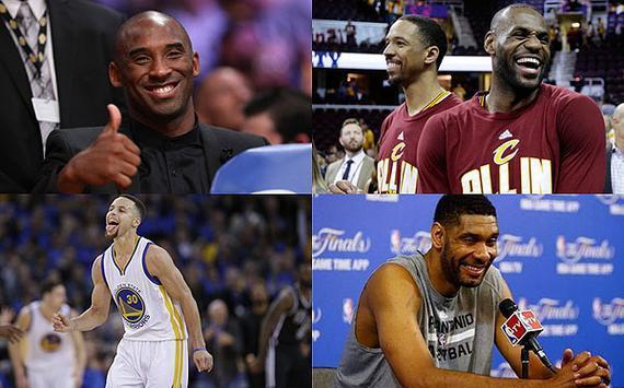 当NBA巨星定小目标 詹姆斯库里会说啥?(组图)