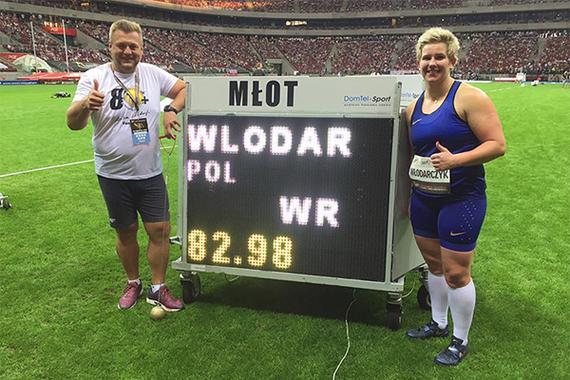 她又破世界纪录了