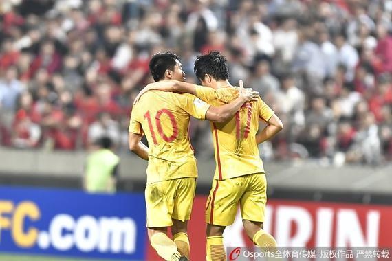 国足2-3惜败韩国