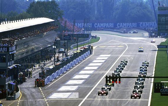 蒙扎赛道从1950年起就举办F1大奖赛