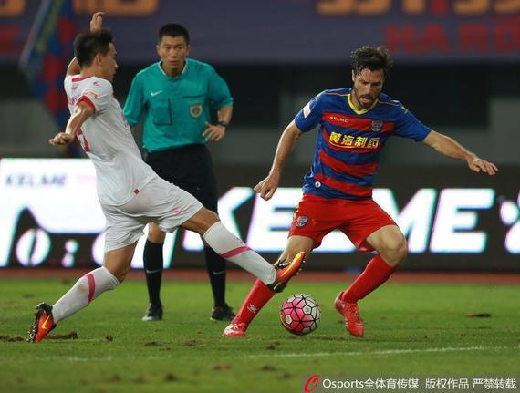 黄海2-0深圳